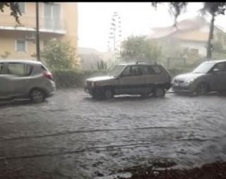 pioggia auto