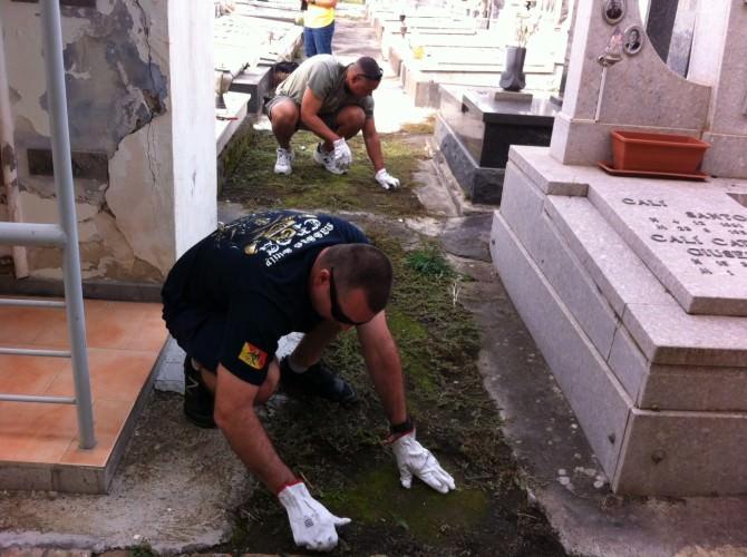 pulizia cimitero marines 16-10-14