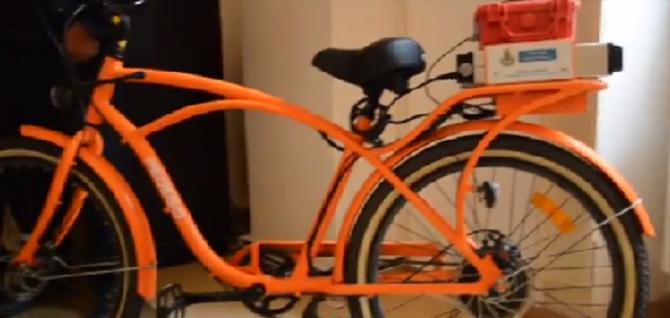 Vigili in bicicletta
