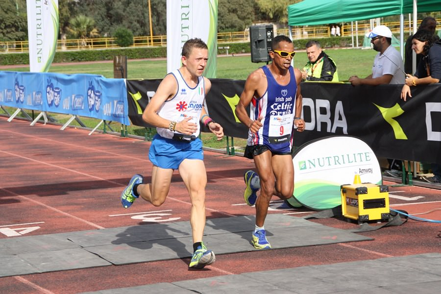 Buccilli e Hajjy - Maratona Palermo 161114