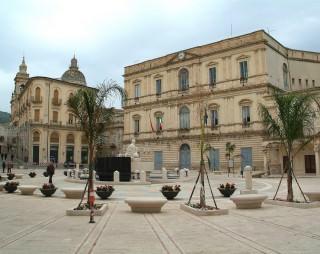 La sede del Comune di Comiso