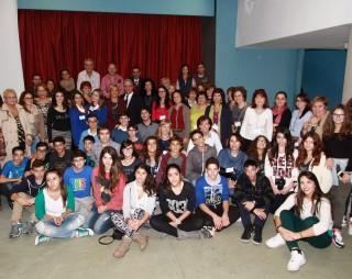 studenti cavour con le delegazioni europee 101114