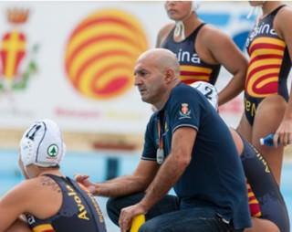 Un timeout del coach Maurizio Mirarchi