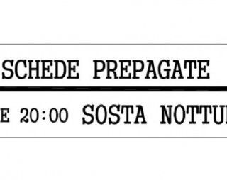 SCHEDE PREPAGATE NOTTURNE