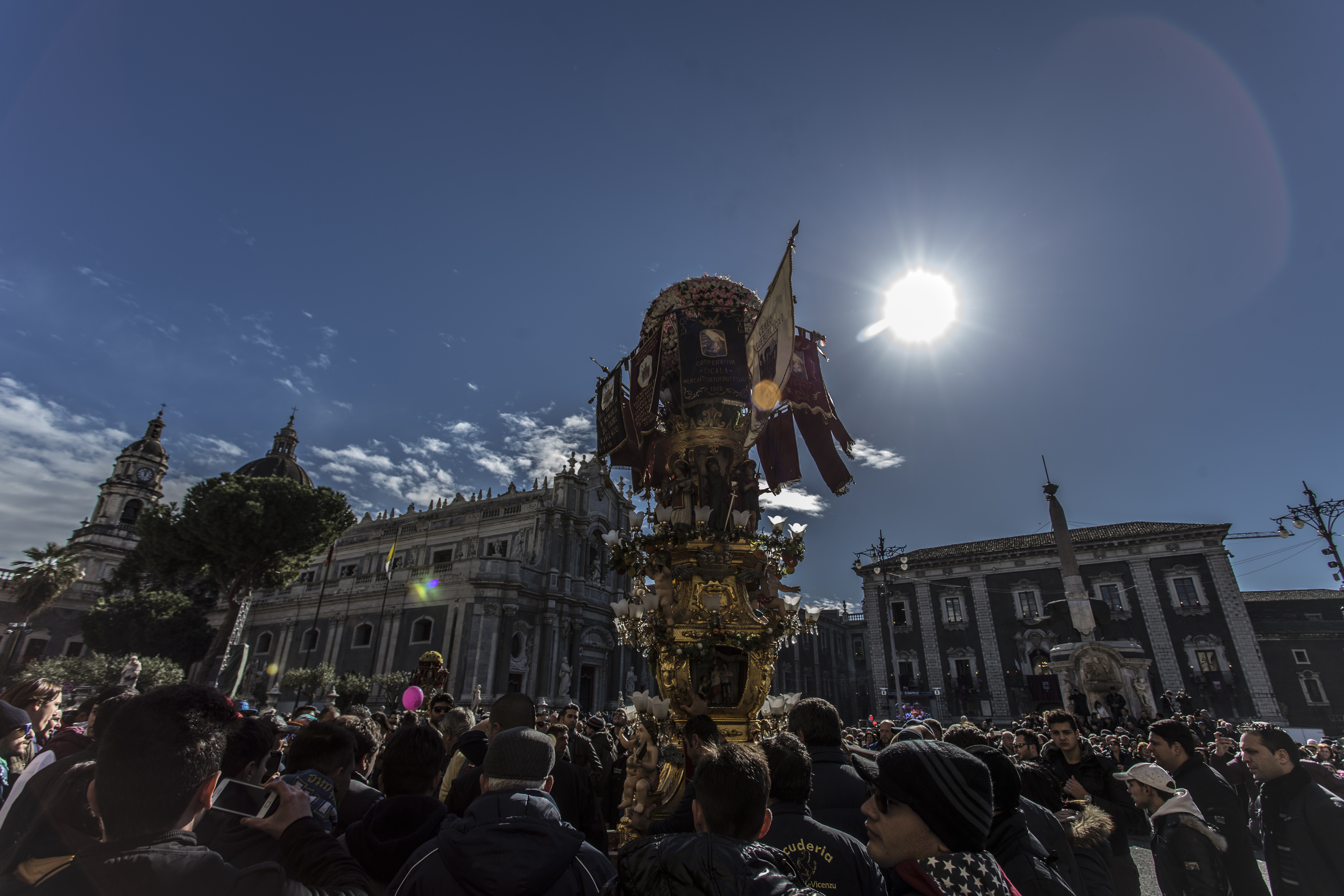 Candelora in piazza Duomo