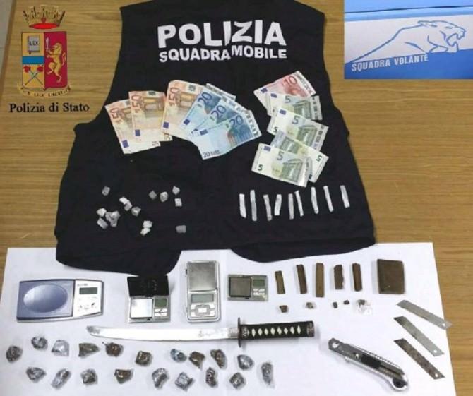 Blitz Polizia di Stato Ragusa