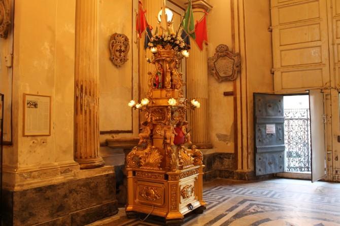 Candelora Cereo Monsignor Ventimiglia