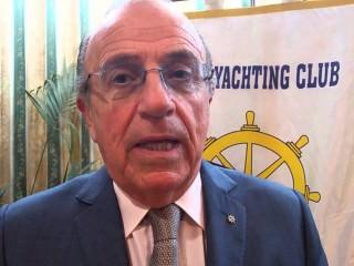 Il dott. Franco Ballati, presidente dello Yachting Club Catania