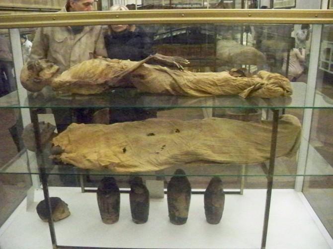 studi su mummie