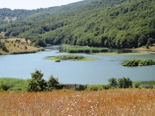 veduta lago Biviere