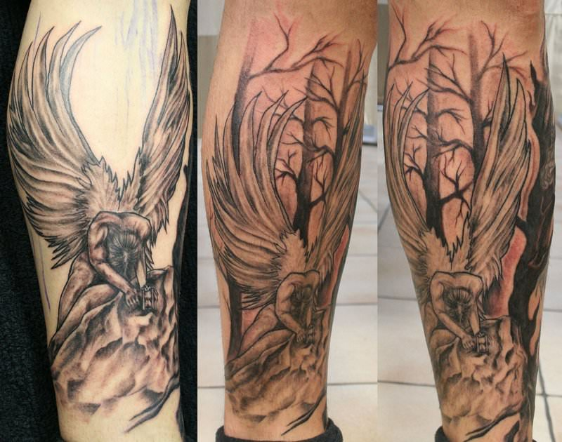 Big_Angel_and_Background_TaT_by_2Face_Tattoo
