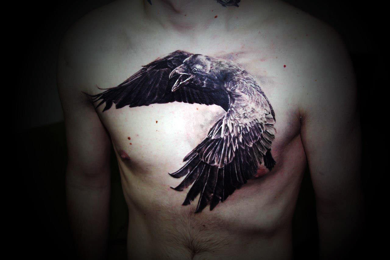 Crow_tattoo