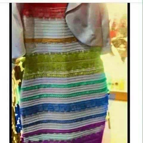 Parodia Vestito Arcobaleno
