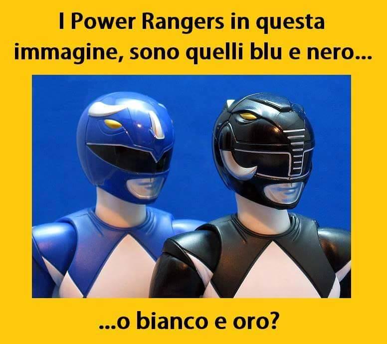 Parodia Vestito Power Ranger