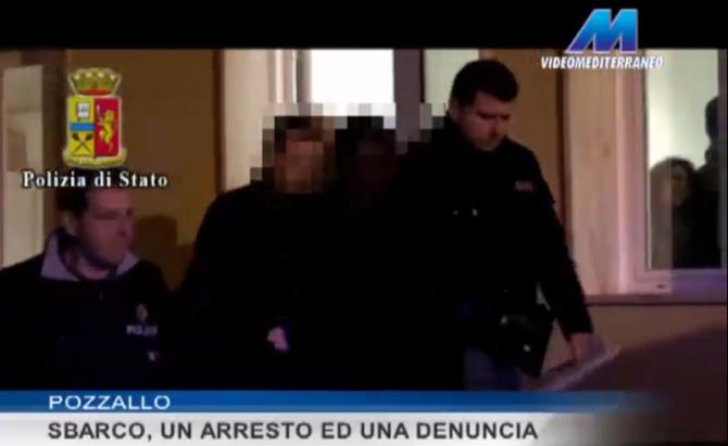 Sbarco_arresto_Pozzallo