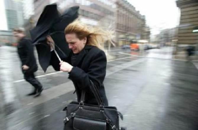 vento e maltempo