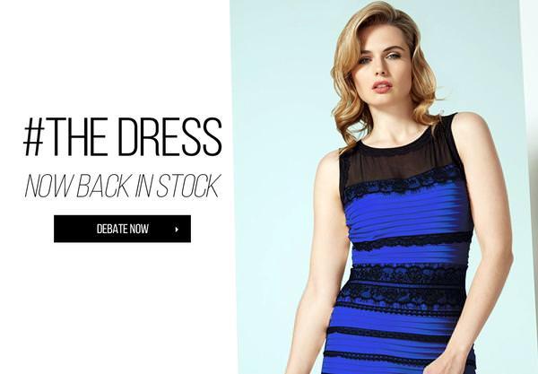 Vestito reale: blu e nero