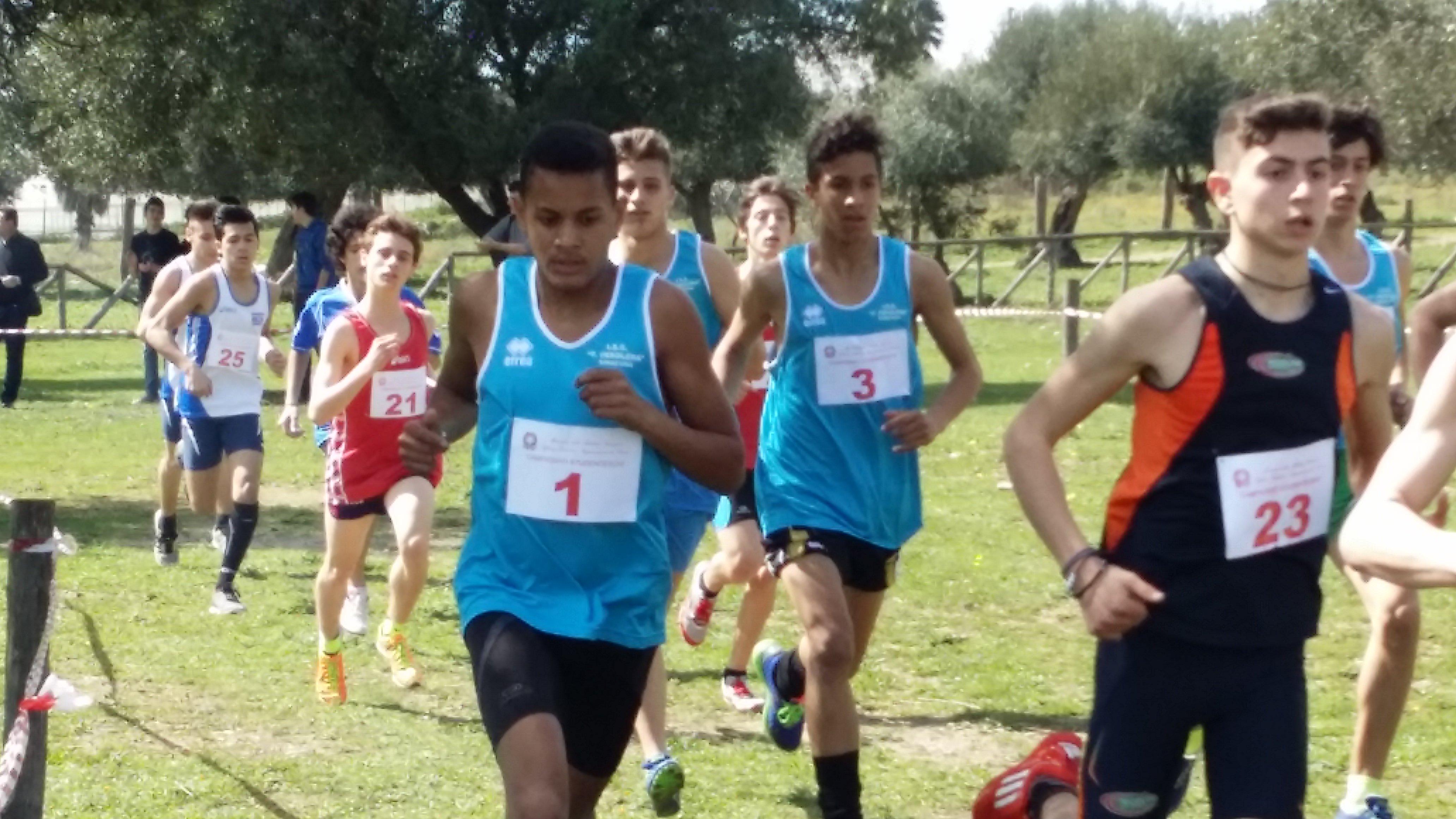 Campionati studenteschi di corsa campestre maschile3