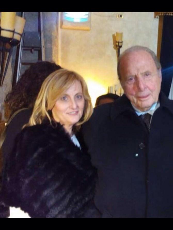 Carlotta Bolognini con il padre Manolo-1