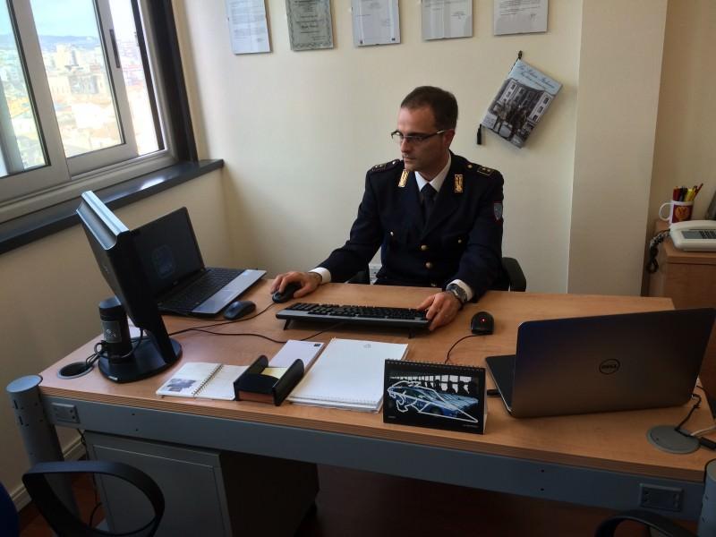 La nuova sede della Polizia postale 3