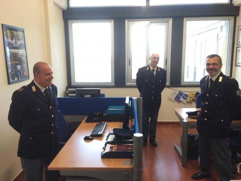 La nuova sede della Polizia postale 4