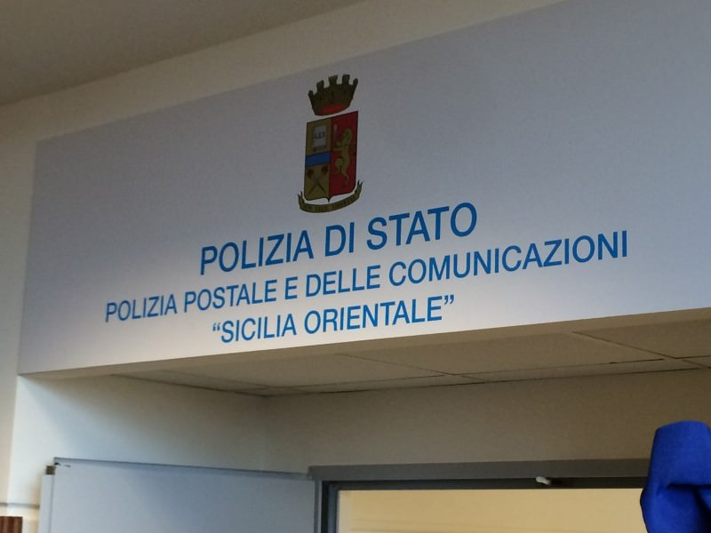 La nuova sede della Polizia postale 6