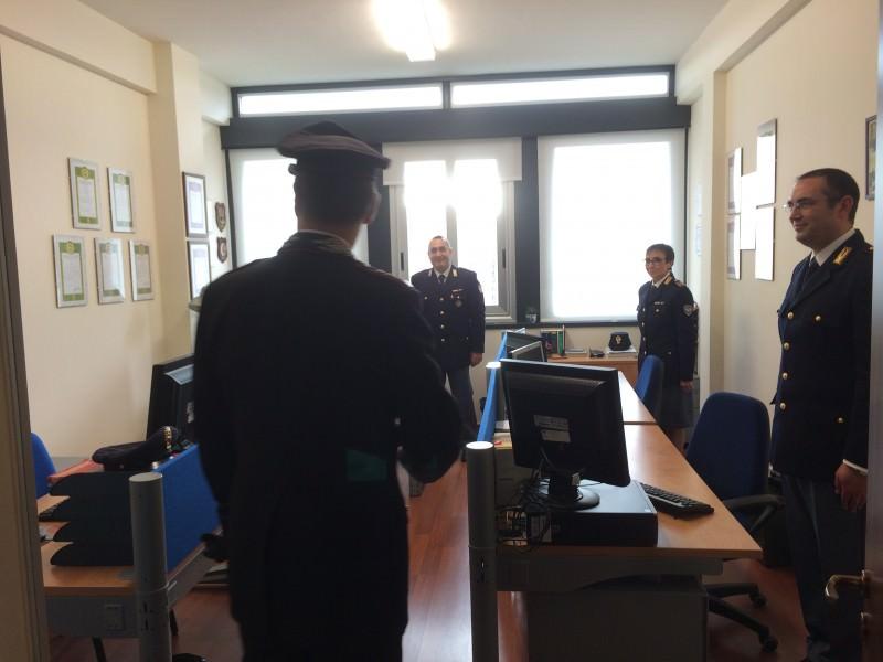 La nuova sede della Polizia postale 8