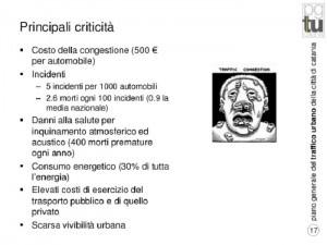 Principali Criticità