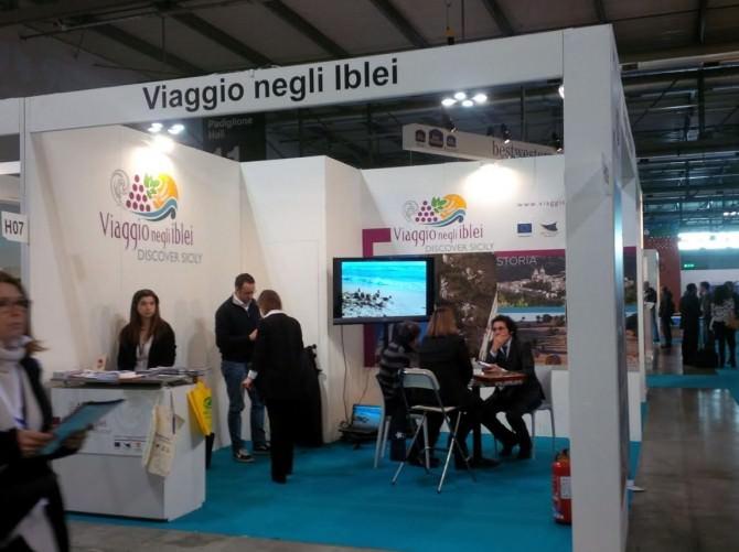 """Stand """"Viaggio negli Iblei"""""""