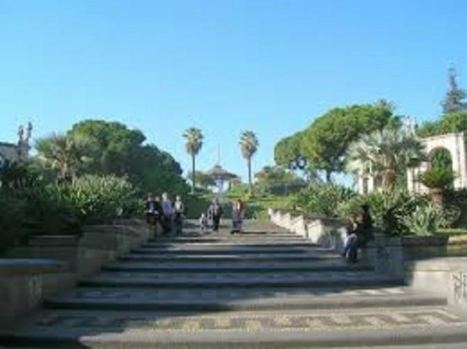 giardino villa bellini