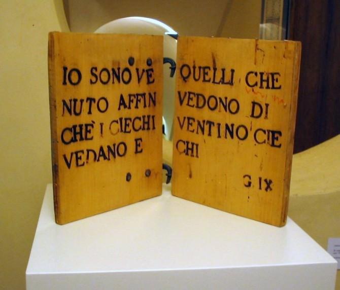 Foto itinerario non vedenti Antonino Del Donno -Libro.