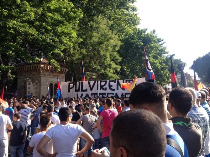 Manifestazione Tifosi Catania 27/06/2015 4