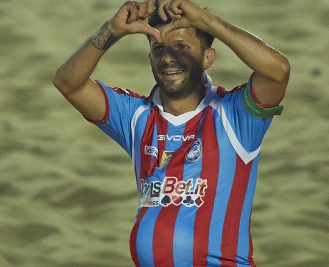 Daniele Bosco Catania Beach Soccer Euro Winners Cup 2015