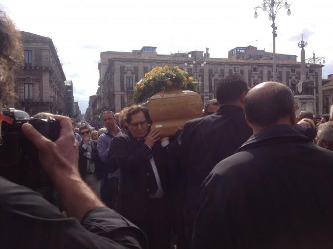 Funerale Lino Leanza
