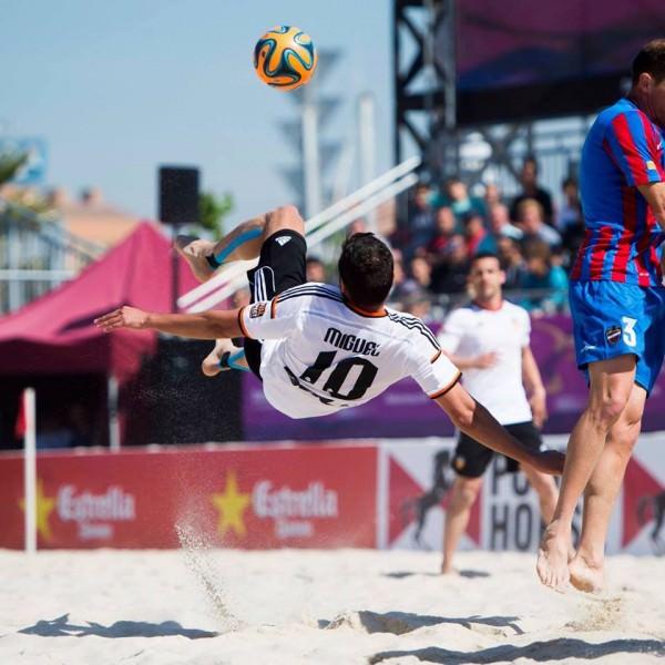 nella foto Miguel Garrido Robles in azione