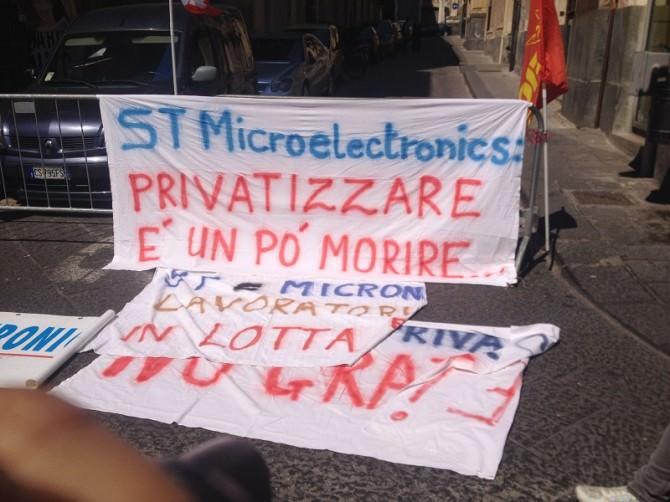 Privatizzazione ST Microelectronics