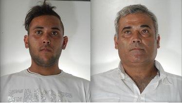 Salvatore Militano, 21 anni, e Carmelo Militano, 48 anni