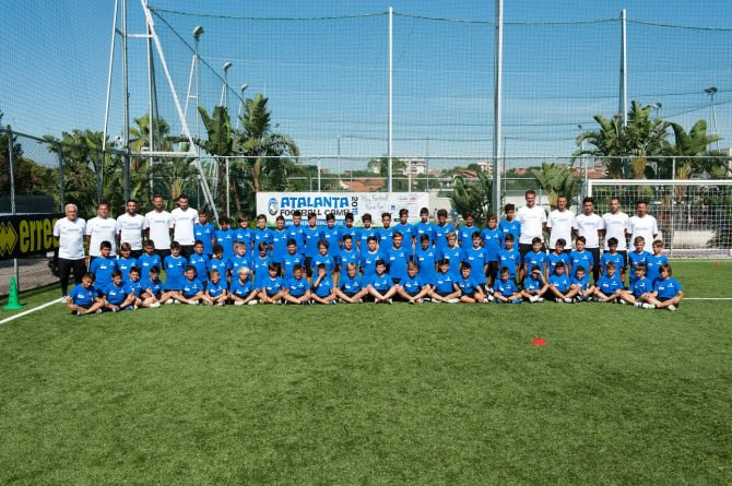 Atalanta Football Camp 2015 Catania Katané Soccer