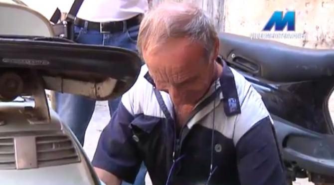 Carmelo Cappello vita scooter 60 anni