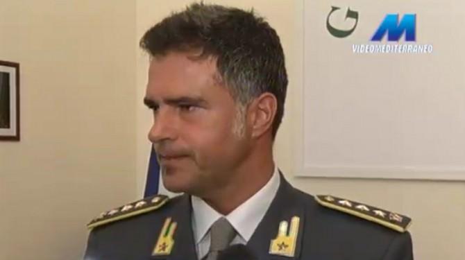 Claudio Solombrino comandante guardia di finanza Ragusa