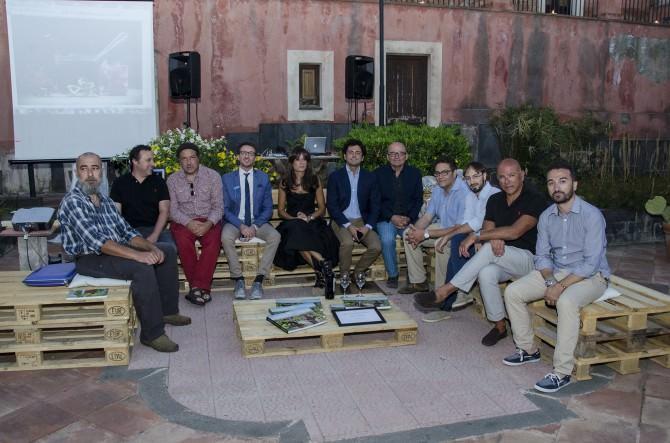 Il sindaco Caputo e gli assessori Prezzavento e Di Mauro insieme ai relatori