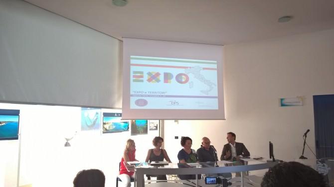 conferenza stampa expo e territori