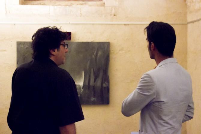2 donnafugata mostra. Salafia e il regista Daniele Ciprì