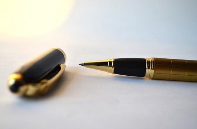 Raccolta Firme Firma Penna