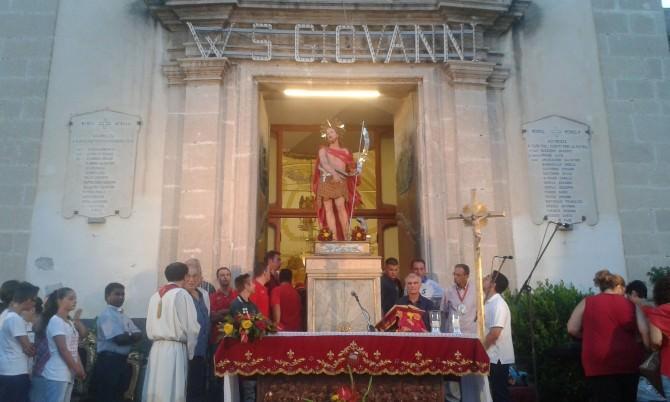 celebrazione martirio san giovanni battista 2015.1