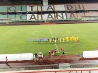 Stadio Massimino per Catania vs Spal