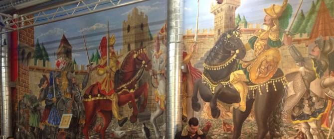 Camelot il Salone dei Cavalieri