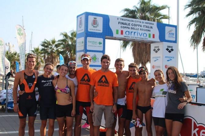 Campionati Italiani Giovanili Triatlon Imperia Magma Team