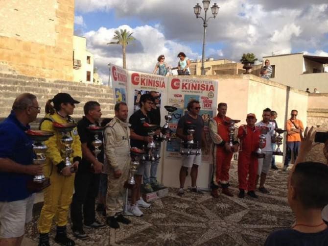 Giuseppe Castiglione, Giuseppe Gullotta, Andrea Raiti 12 edizione slalom Custonaci