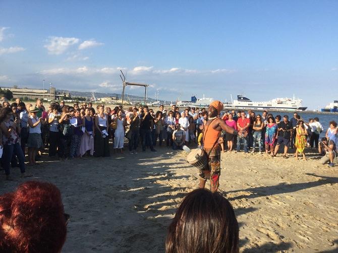 """Catania, """"Marcia a piedi scalzi"""", le immagini dell'evento"""